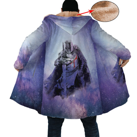 Purple Nebula Knight Cloak
