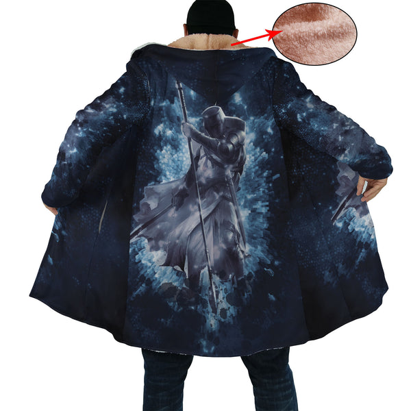 Marvellous Grid Knight Cloak