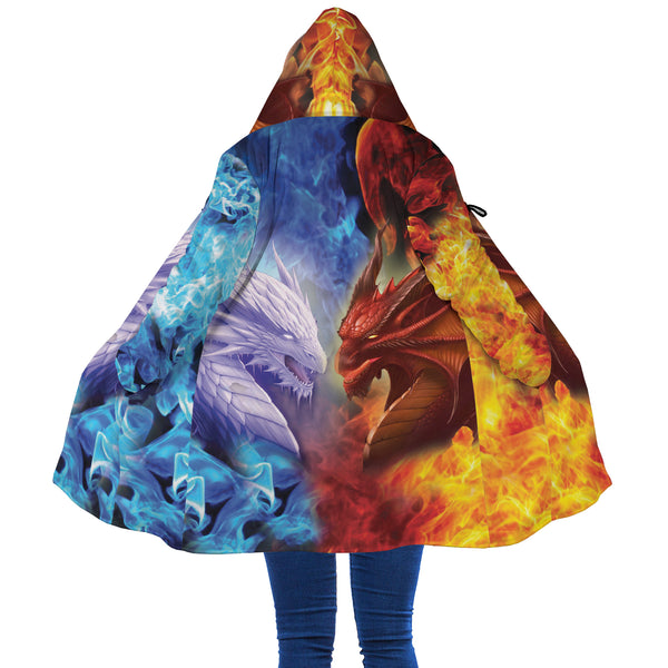 Fire and Ice Dragon Cloak