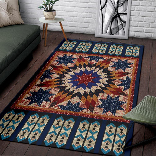 Blue Native Decorate