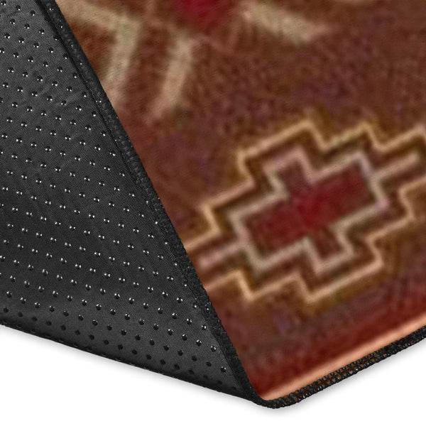 Red-Brown Symmetrical Motifs