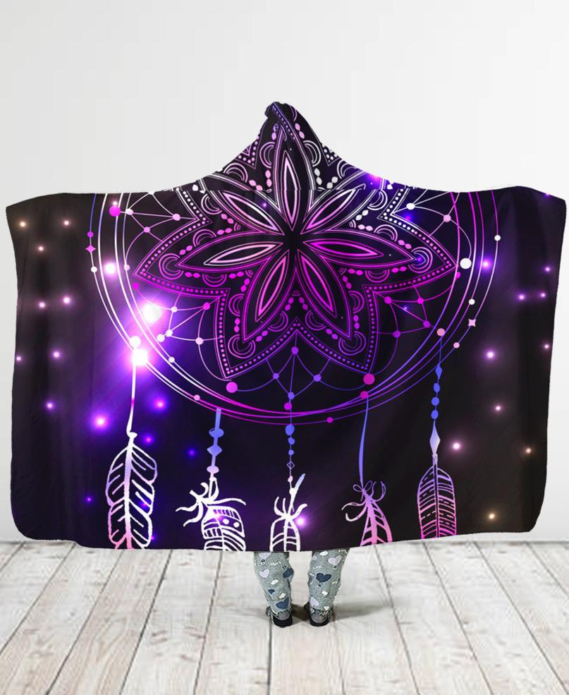 Dreamcatcher Hooded Blanket