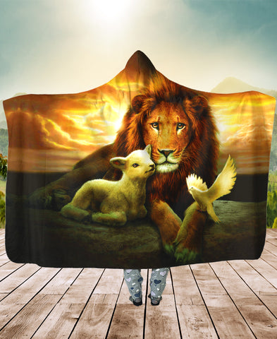 Christian Lamb Lion