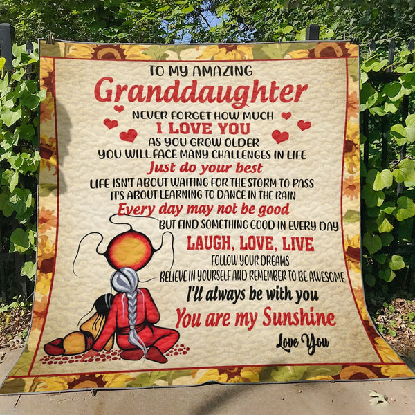 For Granddaughter Quilt