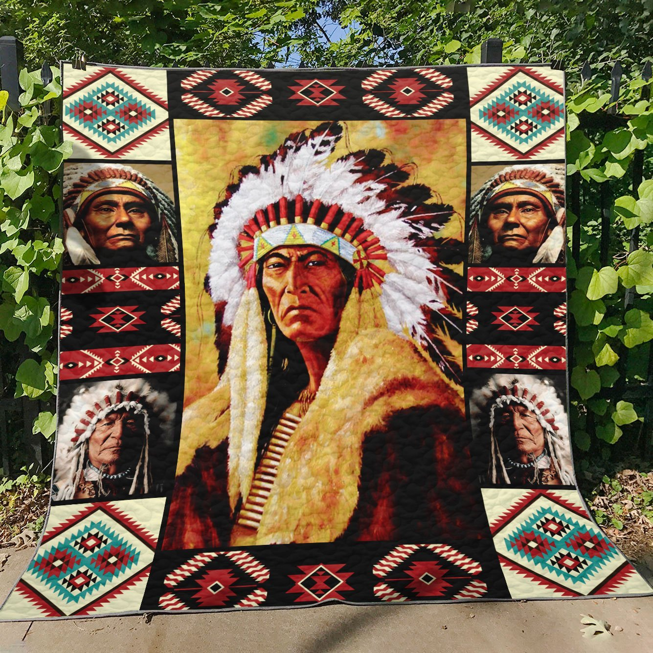 Chief Native Quilt