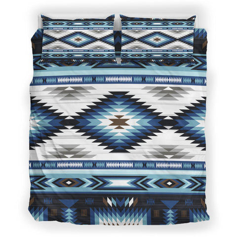 Native Blue White Motifs