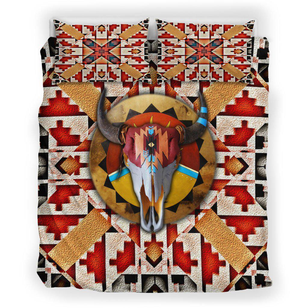Buffalo Floating Color Motifs