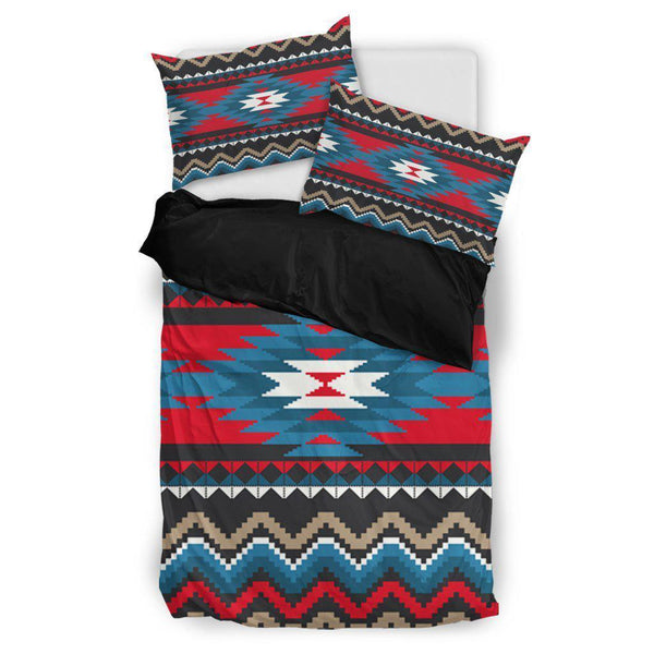 Red Blue Native Pattern