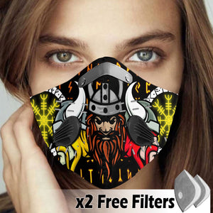 Activated Carbon Filter PM2.5 - Viking Mask 49