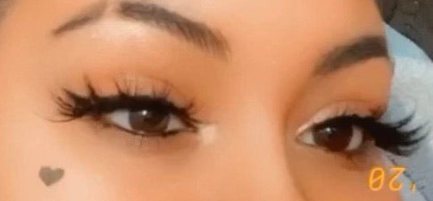 """Baby Doll"" Mink Lashes"