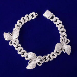 Chunky Butterfly Anklet