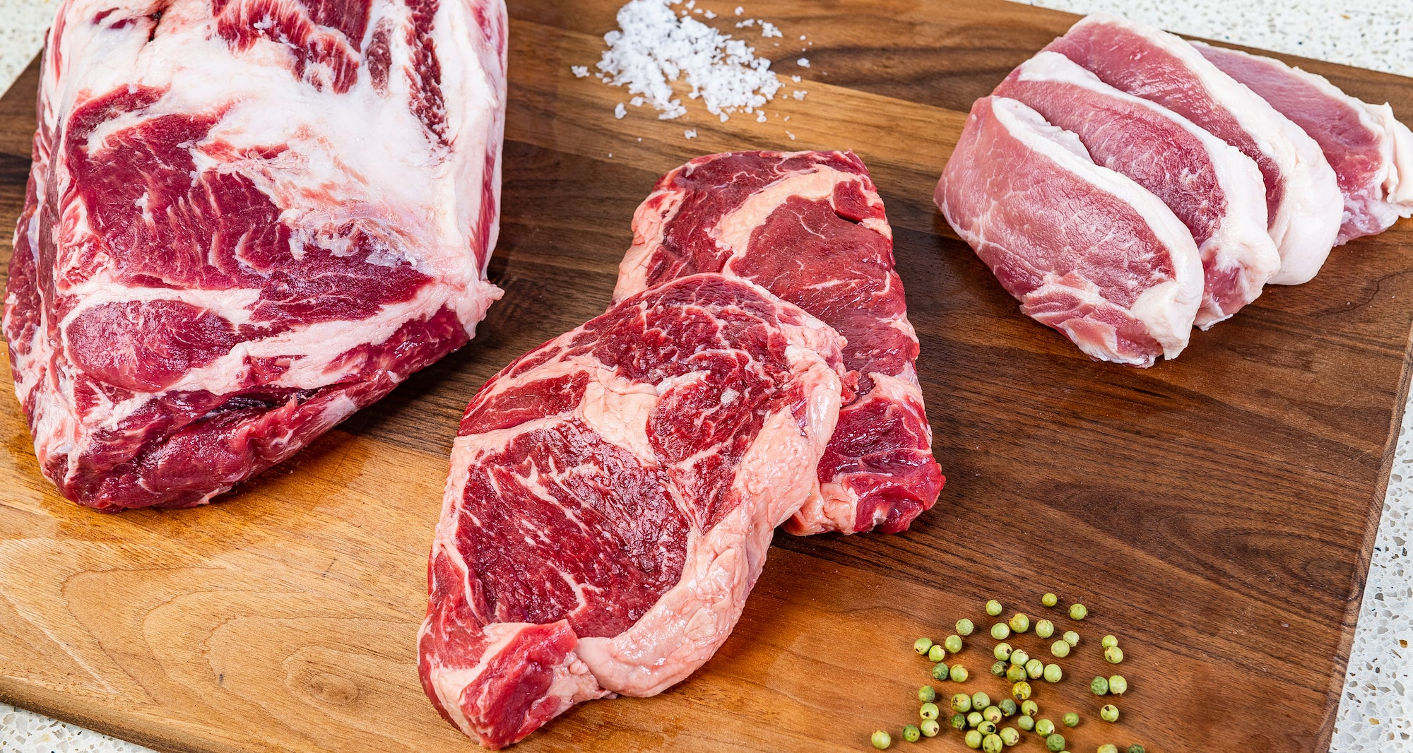 Clean, additive-free meat