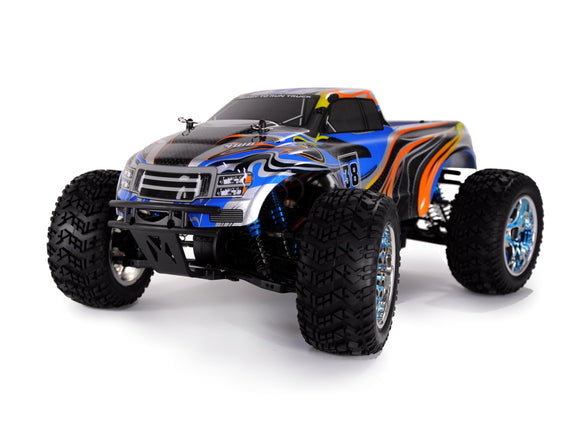 RC Monstertruck Crazist PRO 70km/h 2,4 GHz  4 WD Komplettset
