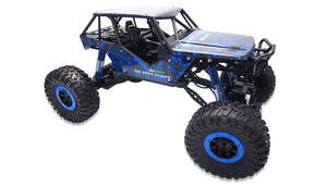 "Crazy Crawler ""Blue"" 4WD RTR 1:10 Rock Crawler"
