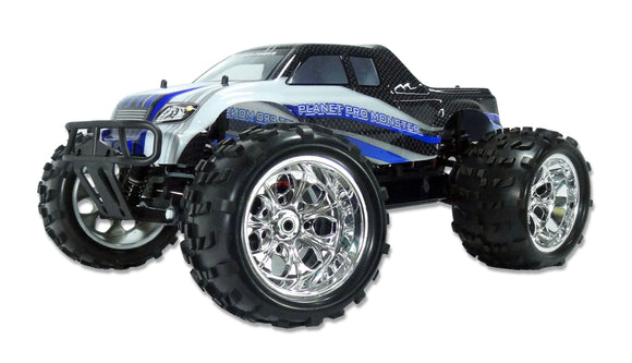 RC Monstertruck Planet PRO M 1:8  4WD Brushless 2,4 GHZ Komplettset NEU