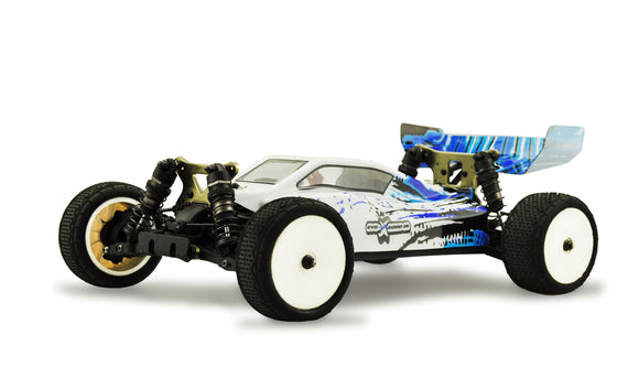 RC Buggy EVO-X 6000 BL 4WD 1:10, blue 6000KV brushless,60A, 2S Combo