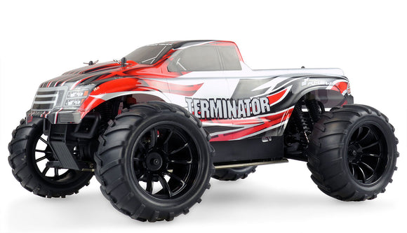 AMEWI Terminator Monstertruck 40km/h 4WD 2,4GHz Komplettset Metallbodenplatte