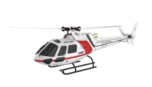 6 Kanal Hubschrauber AS350 Brushless 3D 3-Blatt 6G Flybarless, RTF