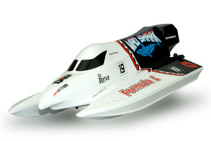 RC Rennboot Speedboot MAD SHARK 45km/h Brushless 43cm 2,4GHz