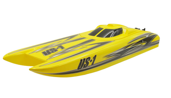 RC Rennboot Speedboot US1 V2 Brushless 60km/h 4S Lipo 68cm 2,4 GHz