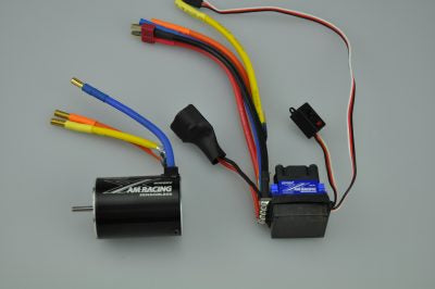 Brushless Combo 6000KV, 60A ESC