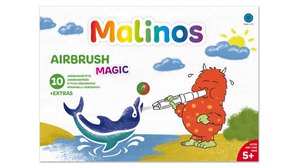 Airbrush Magic 10+1 Malinos