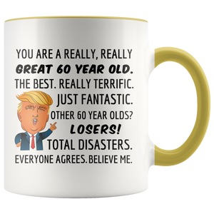 Trump Mug for 60-Year-Old