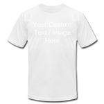 Load image into Gallery viewer, Men's Soft Personalized T-shirt - white