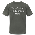Load image into Gallery viewer, Men's Soft Personalized T-shirt - asphalt
