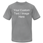 Load image into Gallery viewer, Men's Soft Personalized T-shirt - slate