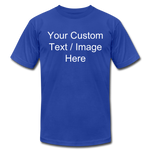 Load image into Gallery viewer, Men's Soft Personalized T-shirt - royal blue
