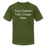 Load image into Gallery viewer, Men's Soft Personalized T-shirt - olive