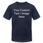 Load image into Gallery viewer, Men's Soft Personalized T-shirt - navy