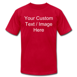Load image into Gallery viewer, Men's Soft Personalized T-shirt - red