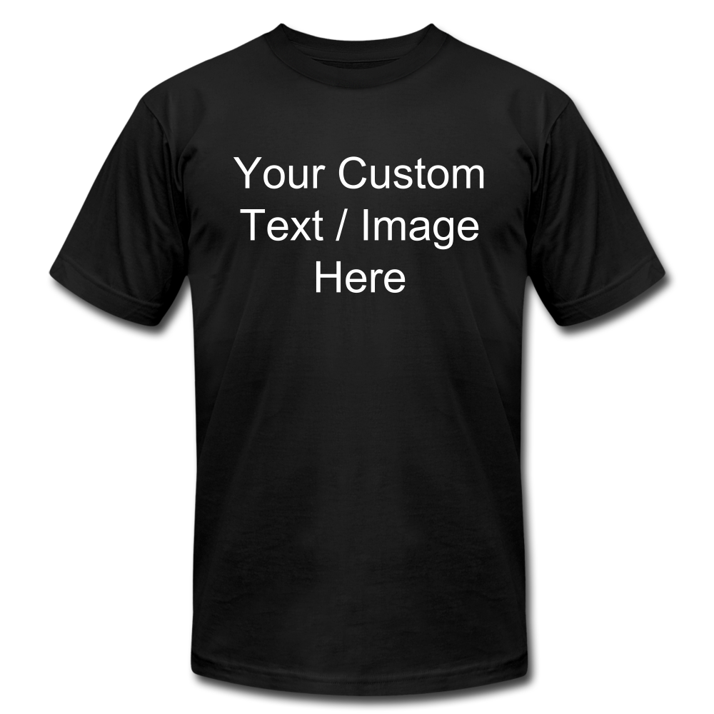 Design Your Own Shirt - black