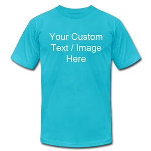 Design Your Own Shirt - turquoise