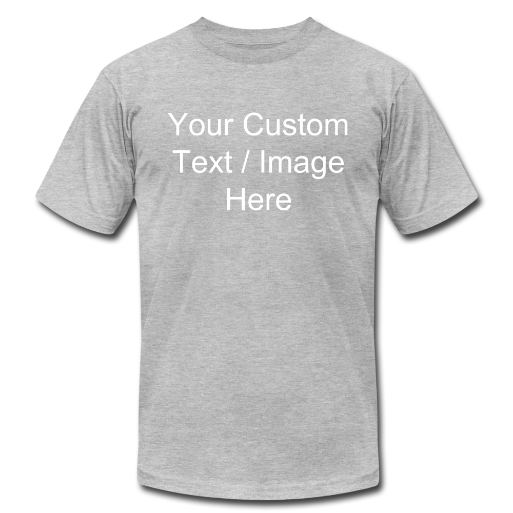 Design Your Own Shirt - heather gray