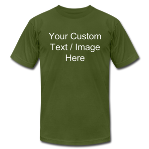 Design Your Own Shirt - olive