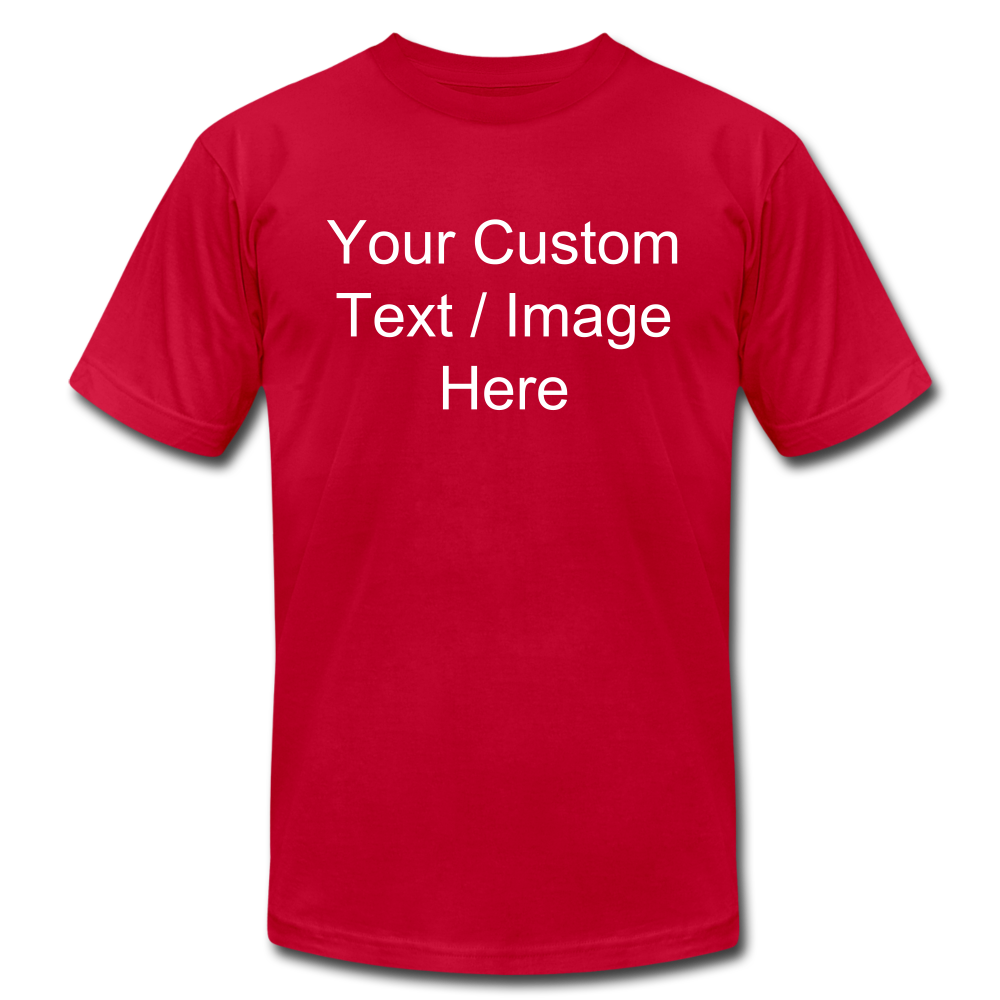 Design Your Own Shirt - red