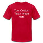 Load image into Gallery viewer, Design Your Own Shirt - red