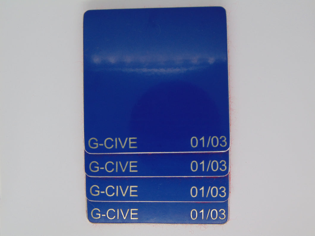 Tailfins Coaster Set of 4 British Airways Boeing 747-400 (G-CIVE)