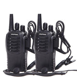 Lot de 2 Talkie Walkie Rechargeables