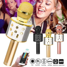 Charger l'image dans la galerie, WIRELESS BLUETOOTH KARAOKE MICROPHONE