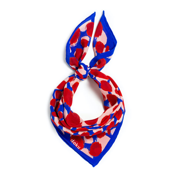 Berry Patch Silk Scarf 1