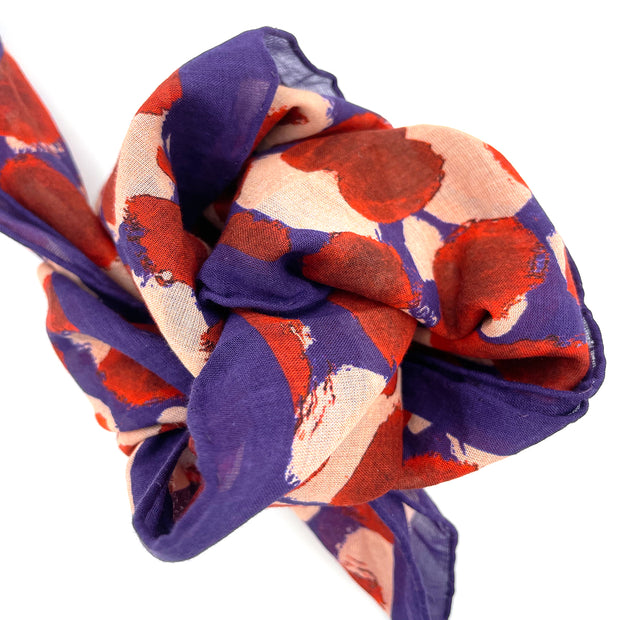 Berry Patch Cotton Scarf 1