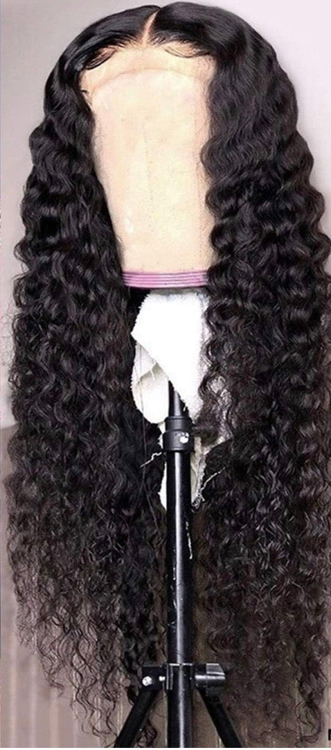 Curly Frontal Wig - KOZMIX Collection