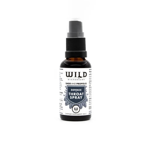 Defence Throat Spray by Wild Dispensary