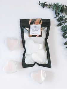 Large Heart Wax Melts / The Sample Kit