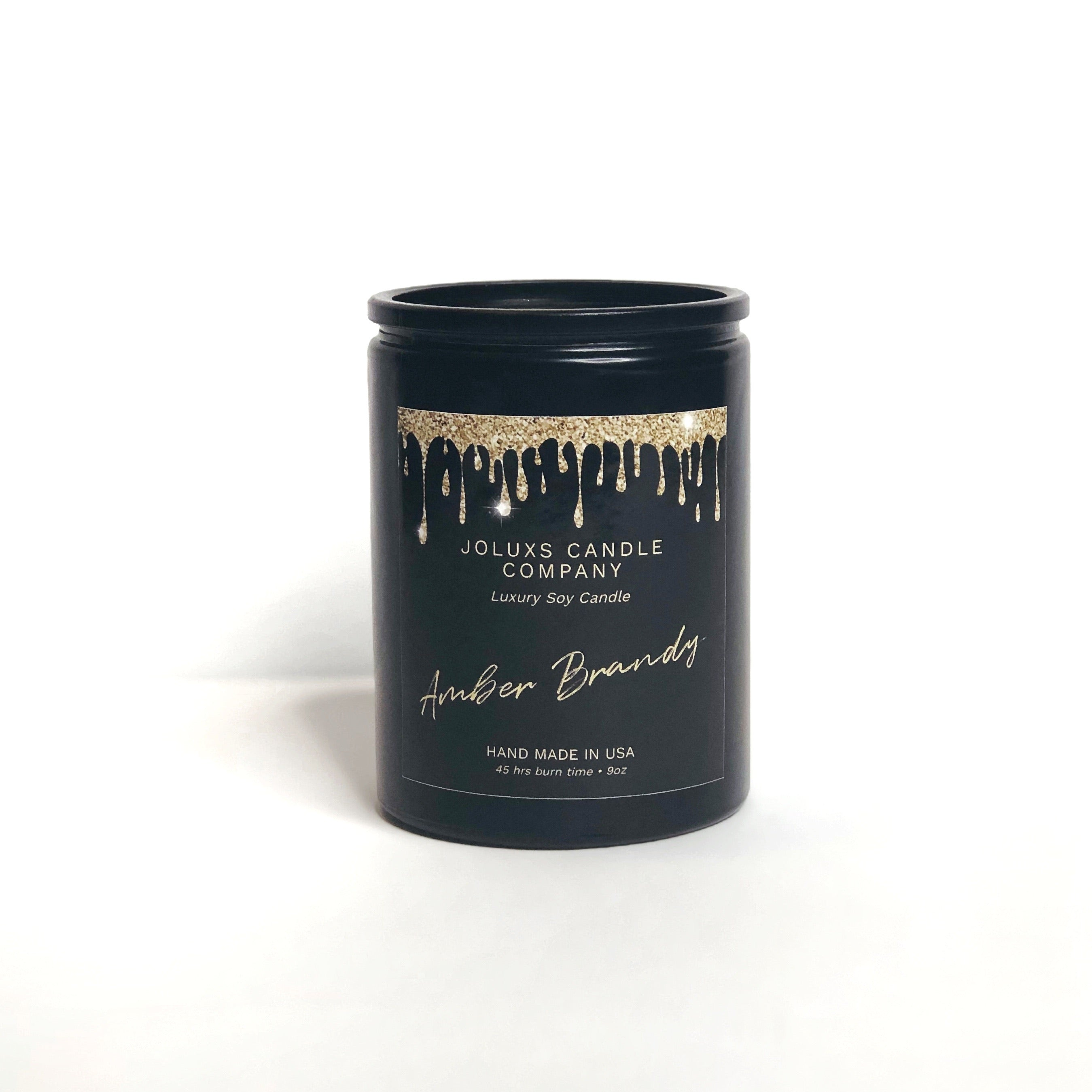 Amber Brandy Soy Candle