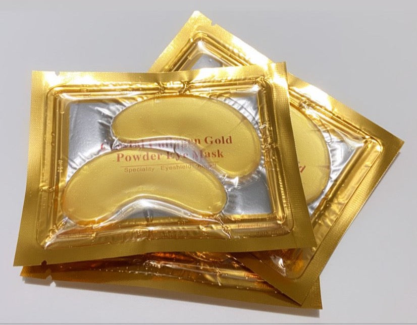 24k Gold Luxe UnderEye Mask